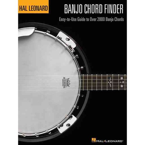 Banjo Chord Finder: Easy-To-Use Guide to over 2,800 Banjo Chords by