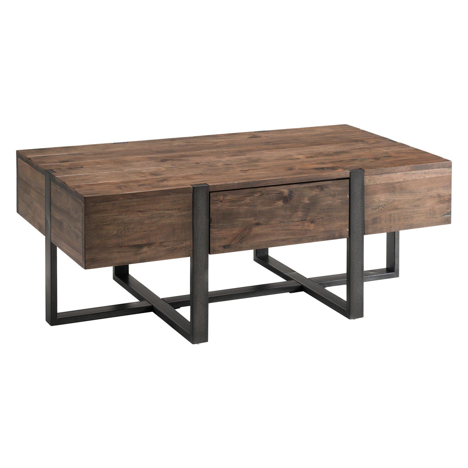 Magnussen Prescott Reclaimed Wood Condo Rectangular Coffee Table