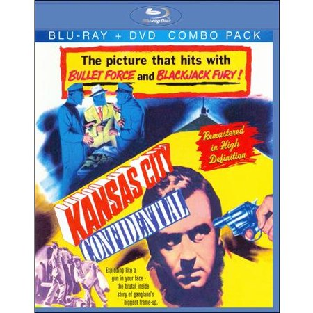 Kansas City Confidential  Blu Ray   Standard Dvd   Full Frame