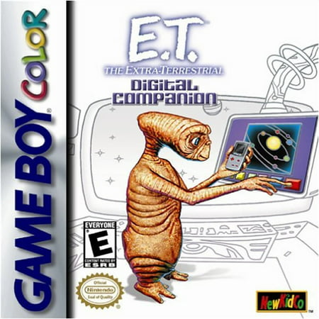 E.T.the Extra-Terrestrial: ?Digital Campanion GBC