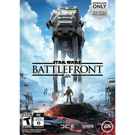 Electronic Arts Star Wars Battlefront (Digital Code) (Star Wars Pc Collection)