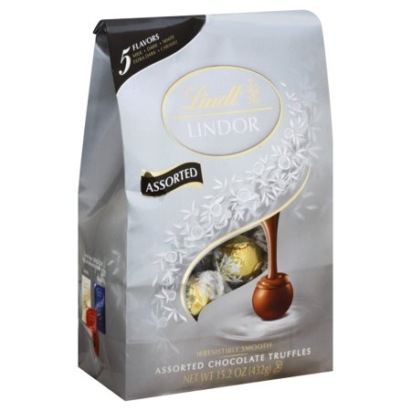 Lindt Lindor Assorted Chocolate Truffles, 15.2 Oz. ()