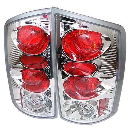 - Fits 02-06 Dodge Ram 1500 03-06 Ram 2500/3500 Pickup Clear Tail Lights Lamp Pair
