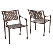 Outdoor Chair in Shiny Copper - Set of 2