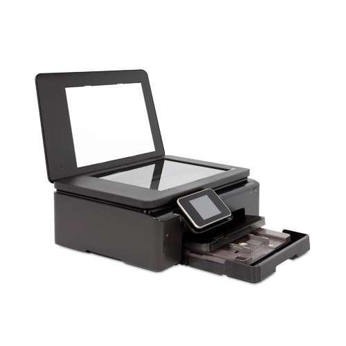 HEWLETT-PACKARD Photosmart Printer, 12ppm, 80sht Cap, 17x21x6, Black