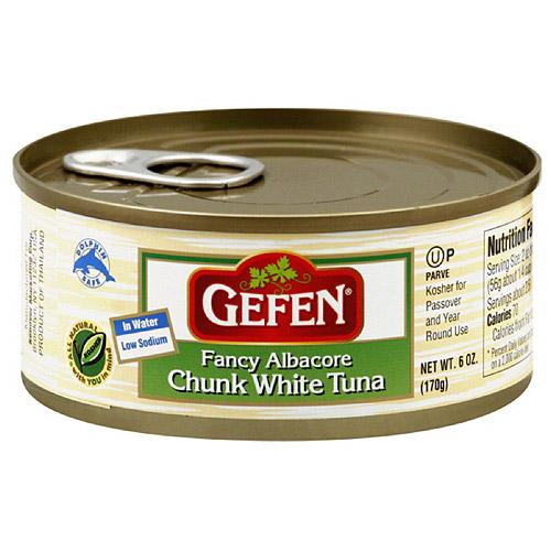 Gefen Fancy Chunk White Albacore Tuna In