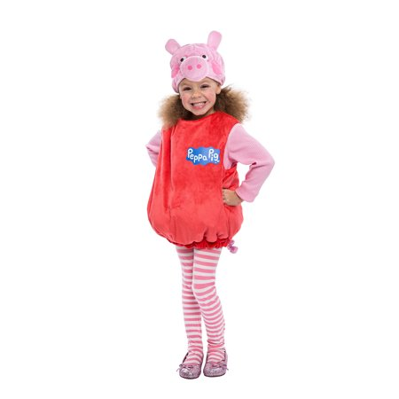 Peppa Pig Bubble Dress Toddler Costume (Olivia The Pig Baby Halloween Costume)