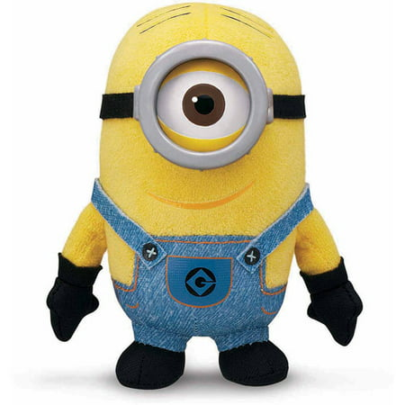 Despicable Me 2 Plush Buddies, Minion Stuart](Despicable Me Minion Toys)