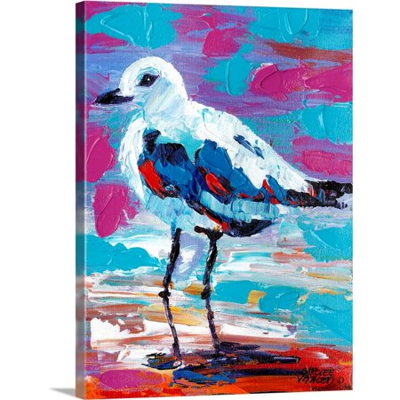 Seaside Birds II   Canvas Wall Art, Home Decor   18x24