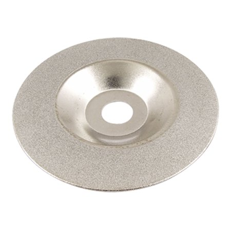 Unique Bargains 100mm x 16mm 100 Grit Diamond Coated Concave Grinding Wheel Disc