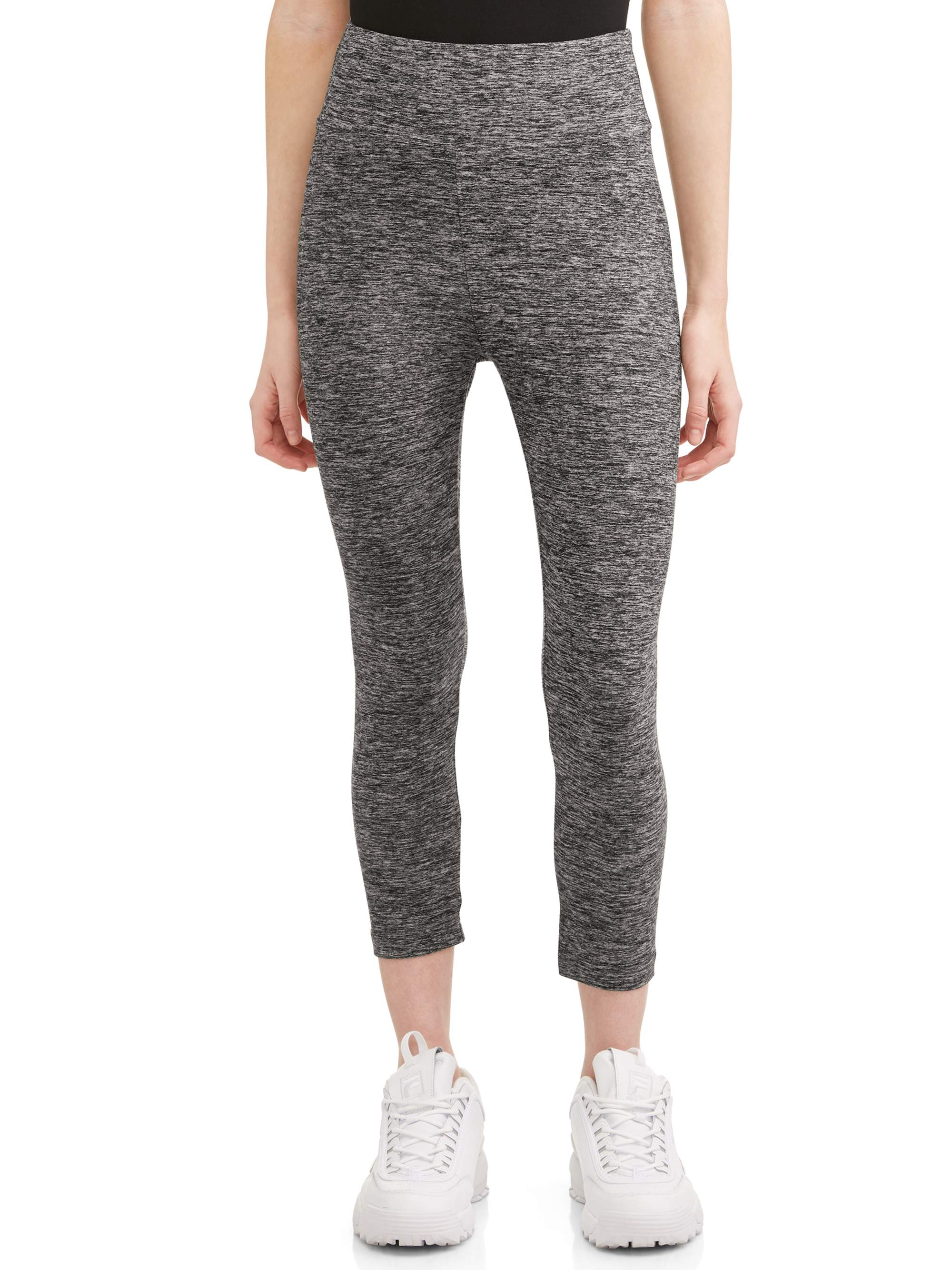 Juniors' Sueded Jersey Capri Leggings (Up to 2XL!)