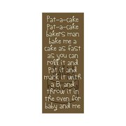 Forest Creations Pat-A-Cake Kids Canvas Art