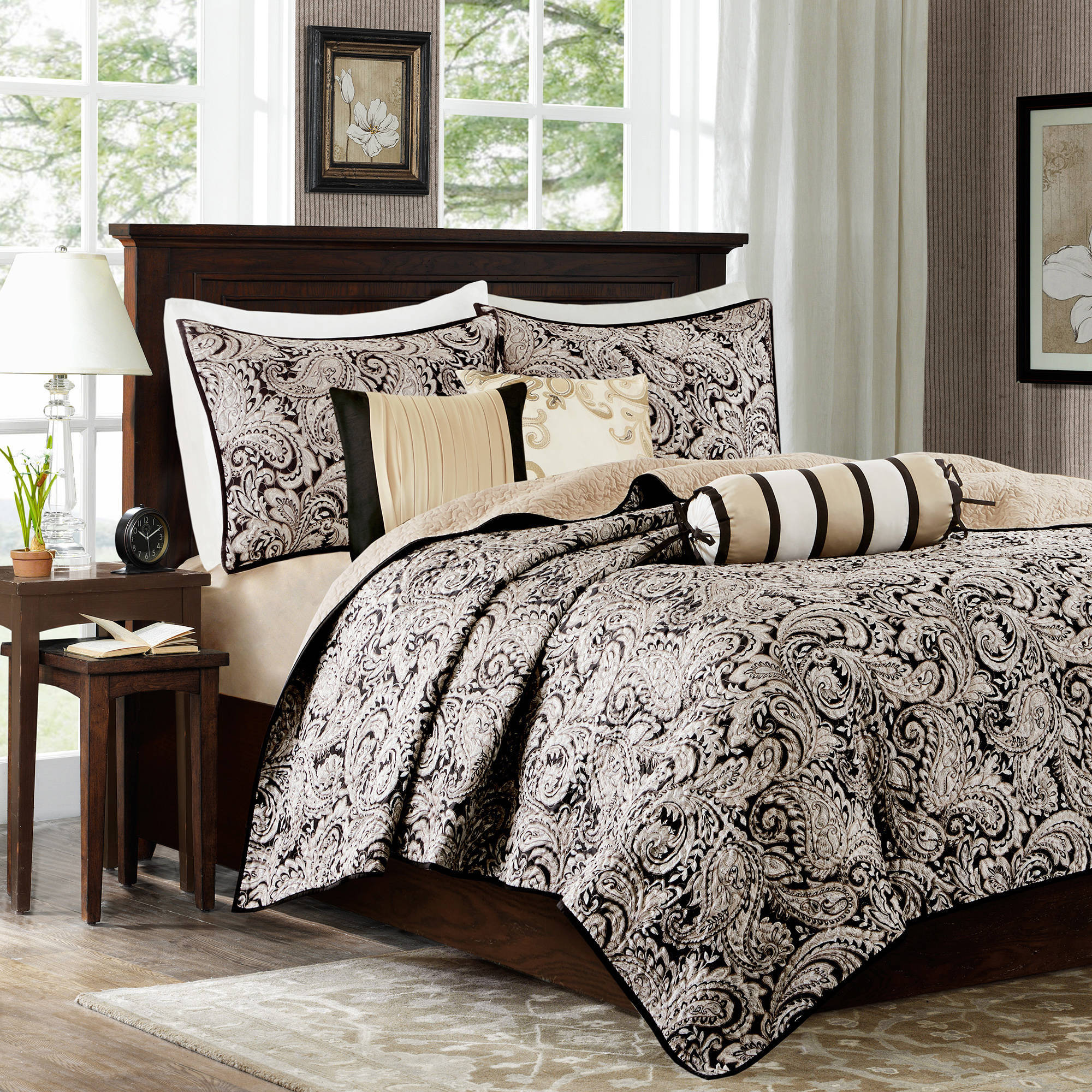 Home Essence Whitman Quilted Coverlet Set
