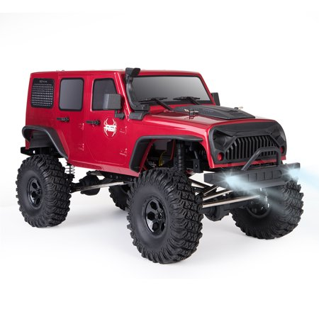 RGT RC Crawler 1:10 Scale 4wd RC Car Off Road Monster Truck RC Rock Cruiser EX86100 Hobby Crawler RTR 4x4 Waterproof RC Toys - Rock Toys