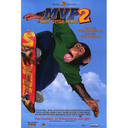 Mvp 2 Most Vertical Primate Movie Poster  11 X 17