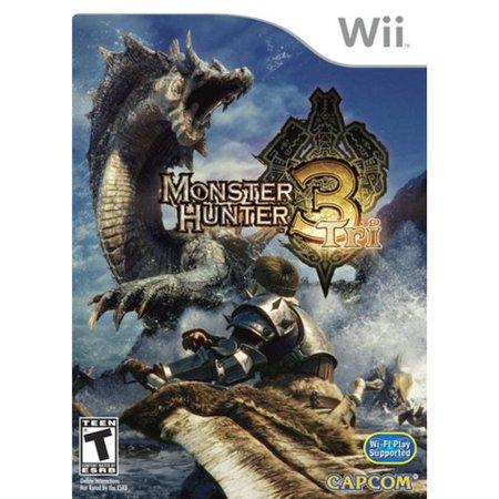 Monster Hunter 3 (Wii) - Dog Bounty Hunter Wig