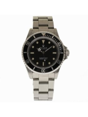 Pre-Owned Rolex Submariner 14060 Steel  Watch (Certified Authentic & Warranty)
