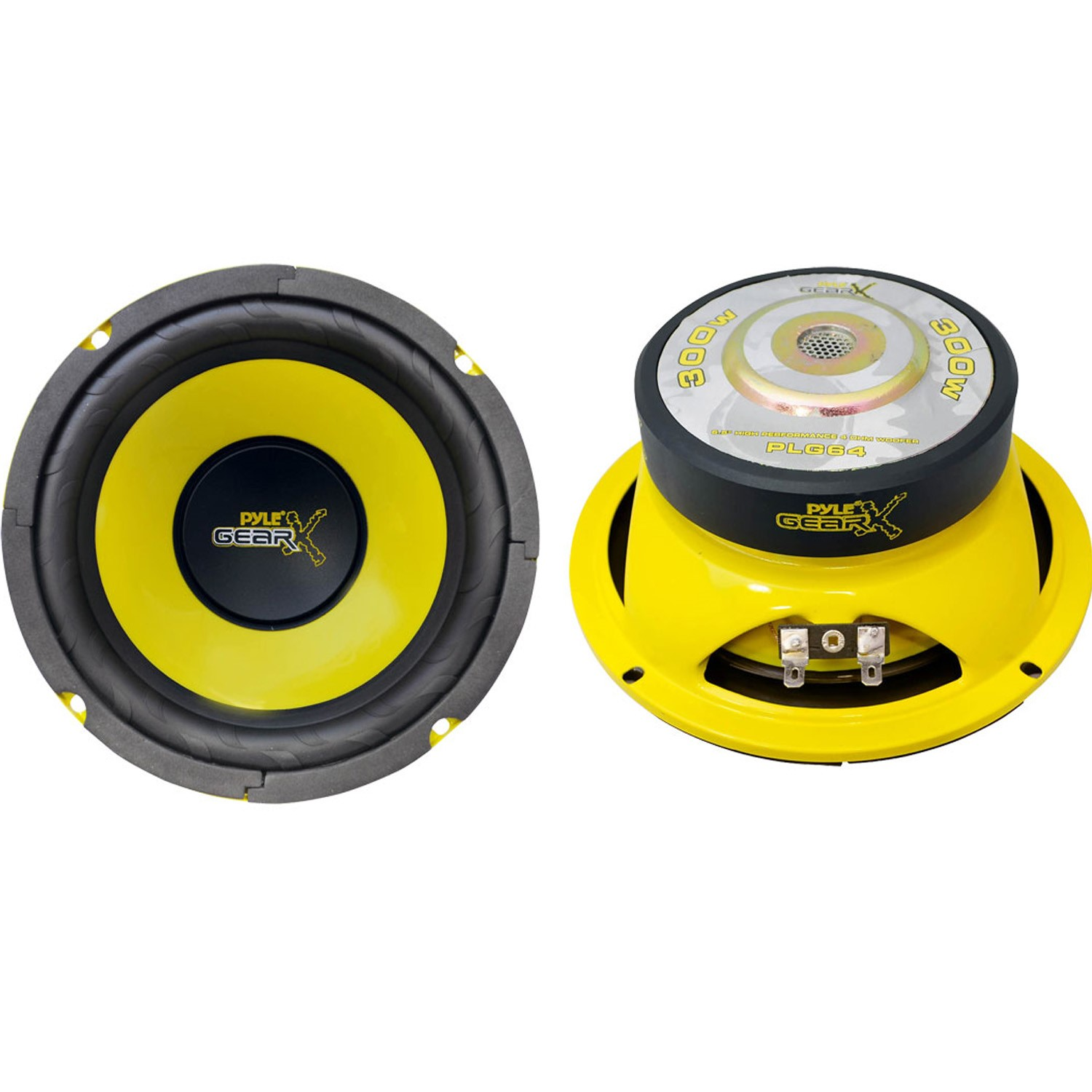 "Pyle - plg64 - 6.5"" 300 watt mid bass woofer"