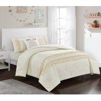 Better Homes & Gardens Floral & Fringe Comforter Set