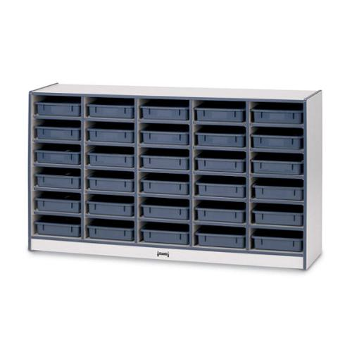 Jonti-craft 30 Paper-tray Cubbie-Color:Blue,Option:Without Trays