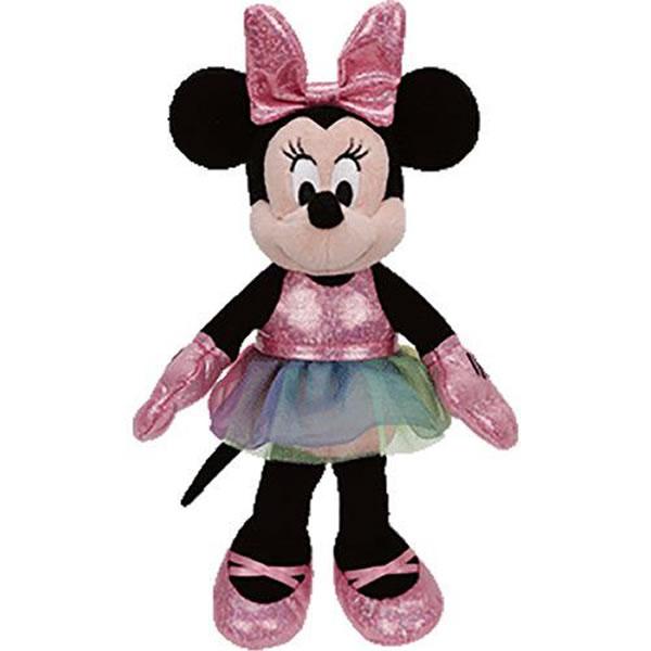 TY Sparkle Beanie Buddies - Minnie Mouse Ballerina