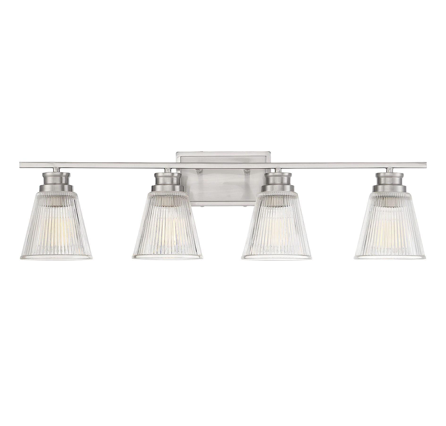2 Bulb Bath Vanity Light Fixture Wall Mount With Plug In Receptacle White Walmart Com Walmart Com