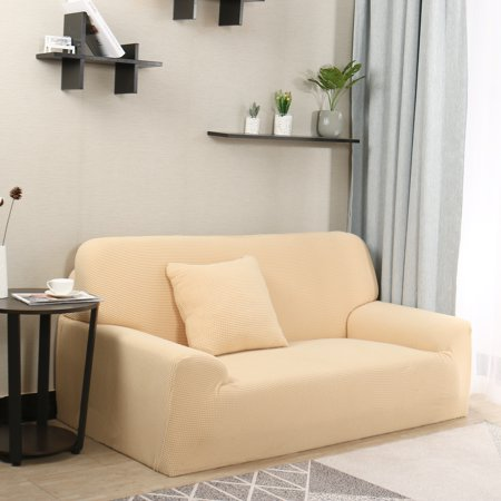 Jacquard Sofa Covers 1 Piece 2 3 4 Seaters Couch Cover Home Furniture Protector Yellow 57 72