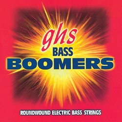 GHS 5ML-DYB Bass Boomers Roundwound Long Scale Medium Light Electric Bass Str... by GHS