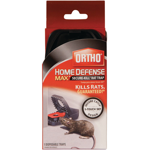 Ortho Home Defense MAX Secure-Kill Rat Trap, 1-Pack