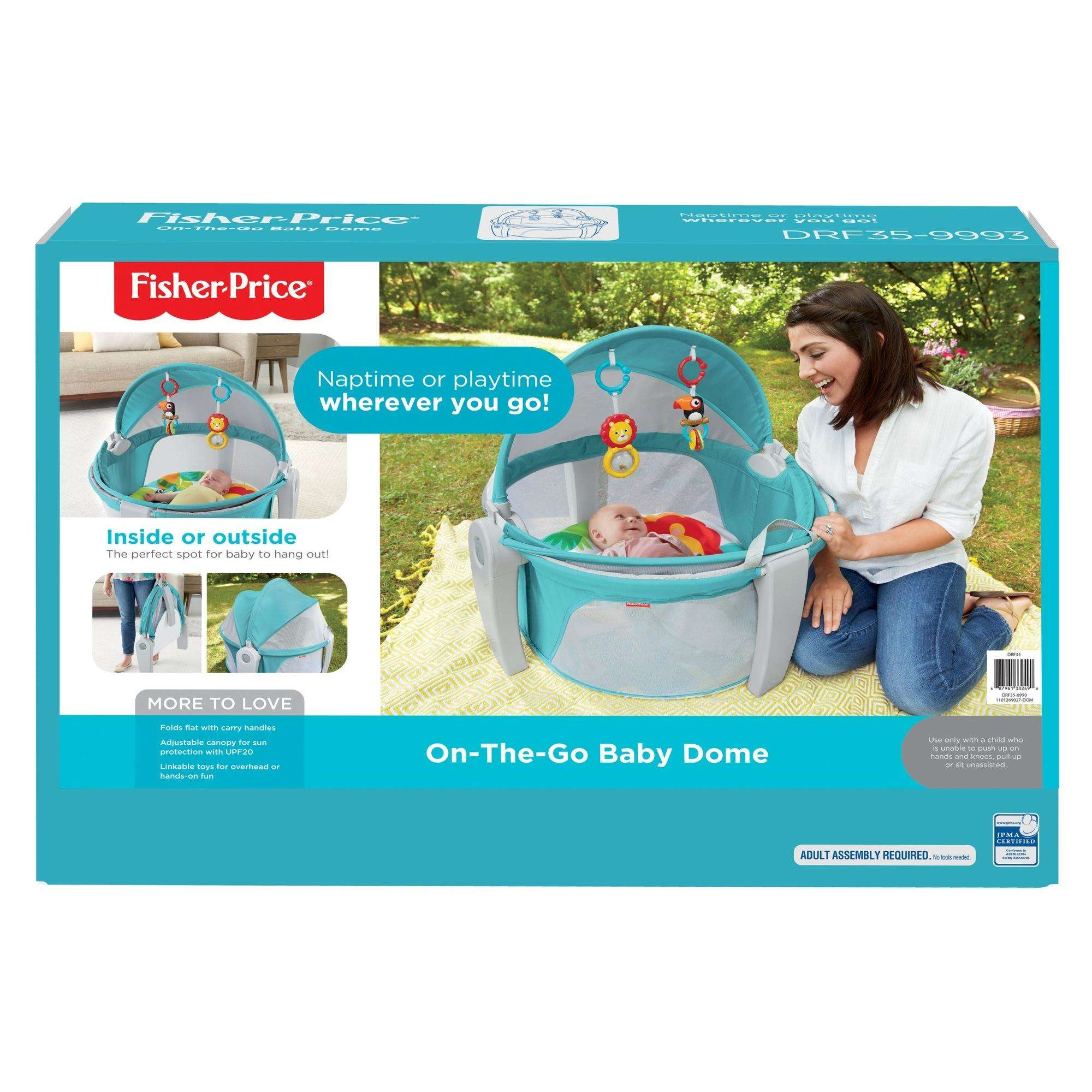 Fisher-Price On-The-Go Baby Dome - Walmart.com