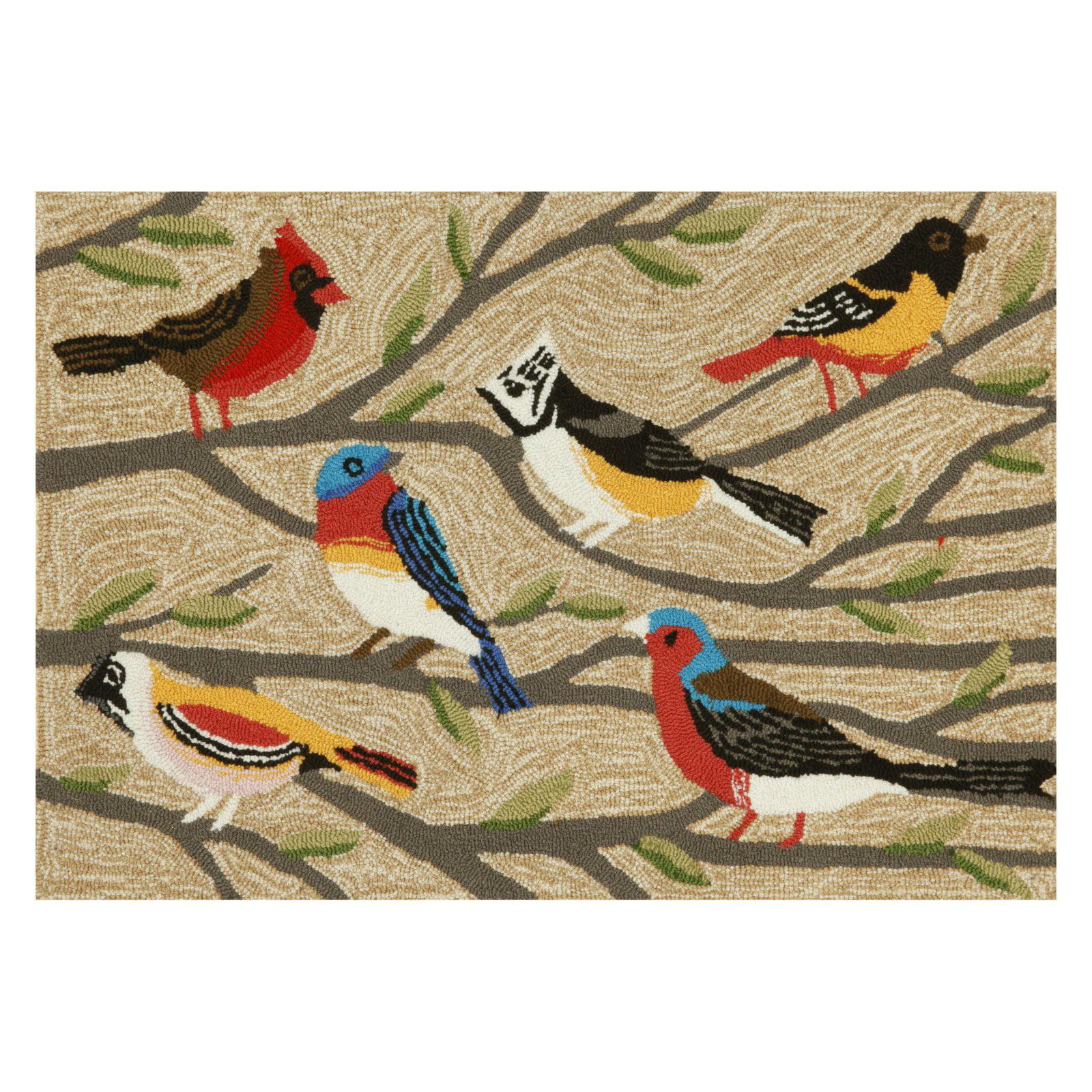 Liora Manne Frontporch Birds Indoor / Outdoor Door Mat