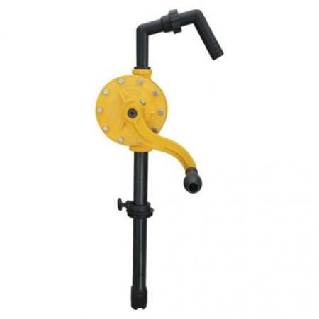High Viscosity Drum Pump - GROZ Rotary Chemical Barrel Pump, 15-55 Gallon Drums