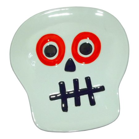 TAG SKULL FACE CANDY DISH PLATE