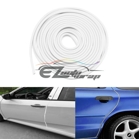15ft Soft Rubber Flexible Car Vehicle Door Edge Guard Protector Molding  Trim Strip Scratch Paint Protection with 3M Self Adhesive Tape