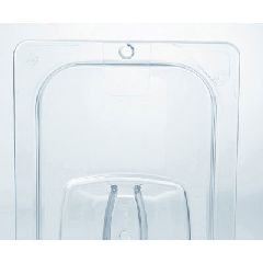 Rubbermaid Commercial Products 10.38'' x 12.8'' Cold Food Pan Cover in Clear