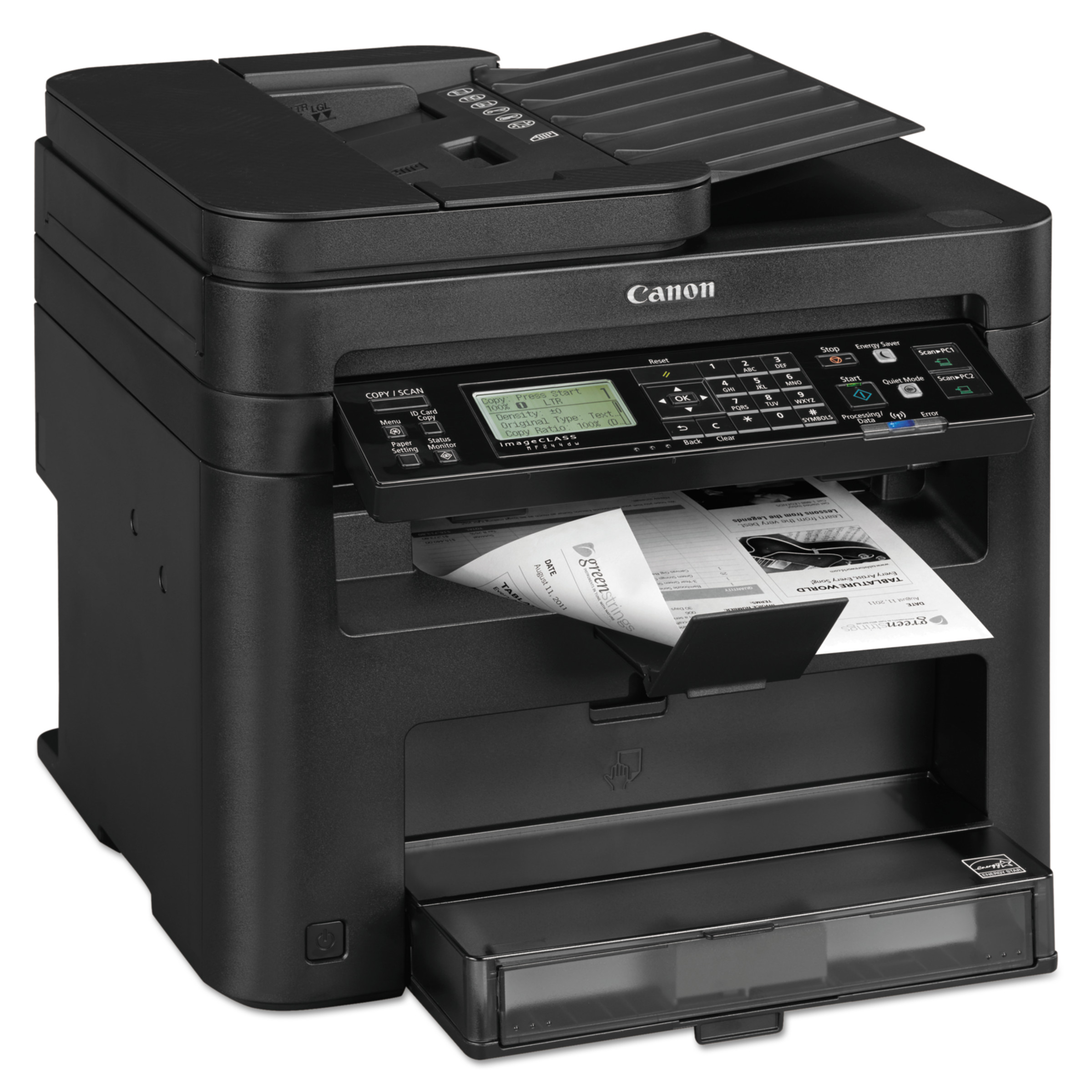 Canon imageCLASS MF244dw Wireless Multifunction Duplex Laser, Print, Scan, Copy
