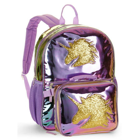Unicorn Backpack With Lunch Bag