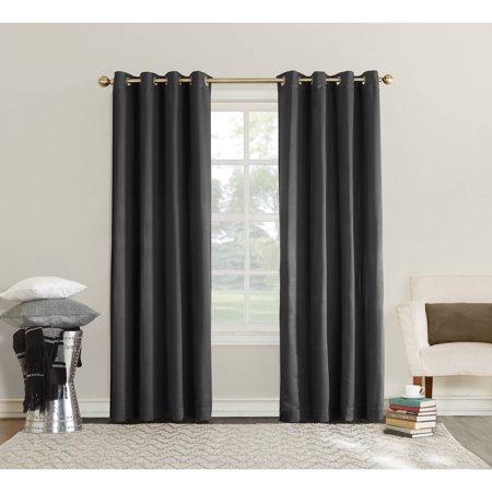Sun Zero Ella Room Darkening Triple Lined Grommet Curtain