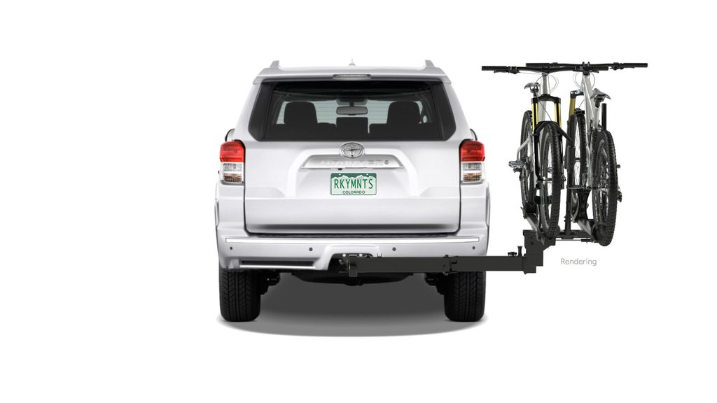 "RockyMounts BackStage 2"" Receiver Swing Away Platform Hitch 2 Bicycle Rack by RockyMounts"