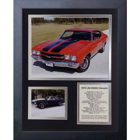 Legends Never Die 1970 Chevelle 454 Ss Ls6 Framed Photo Collage  11   X 14