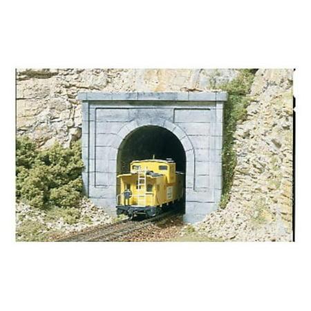 Concrete HO Tunnel Portal, Model Railroading Supplies By Woodland Scenics