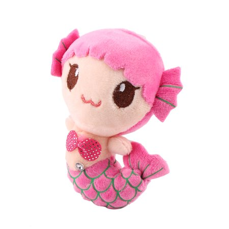 Plush Toys Gift For Children Cute Lovely Plush Princess PP Cotton Toys For Baby Kids Girls The Little Mermaid Stuffed Doll, Pink