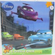 Disney/Pixar Super 3D 6 Puzzle Pack
