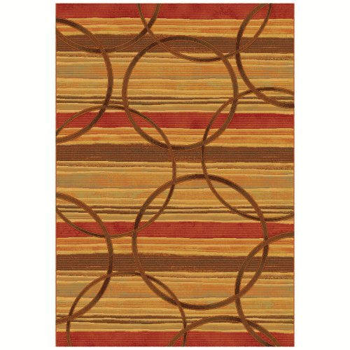 Dynamic Rugs Eclipse Spice 68146 Area Rug