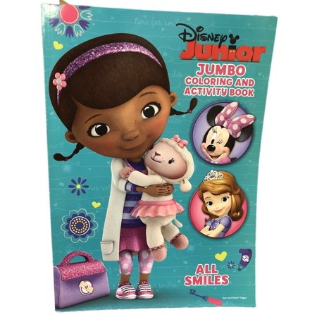 Coloring Book - Doc McStuffins - C&A Book - All Smiles for $<!---->