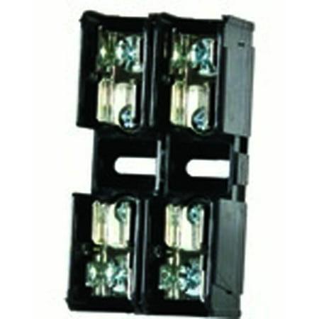 Littelfuse L60030M-2PQ 30A, 2P, 600V, Midget Series Fuse (Littelfuse L50s Series)
