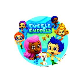 Tremendous 6 Round Bubble Guppies Molly Birthday Edible Icing Image Cake Personalised Birthday Cards Veneteletsinfo
