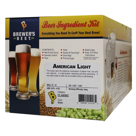 Brewers Best American Light Home Brewing Ingredient