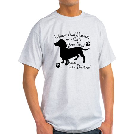 CafePress - Dachshund: Girls Best Friend - Light T-Shirt - CP (Best Buy Girl)