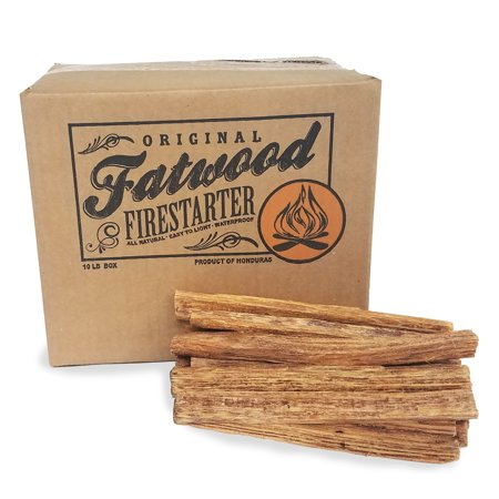 Earth Worth | 10 Pound Box - Fatwood Firestarter (Best Way To Drop 10 Pounds Fast)